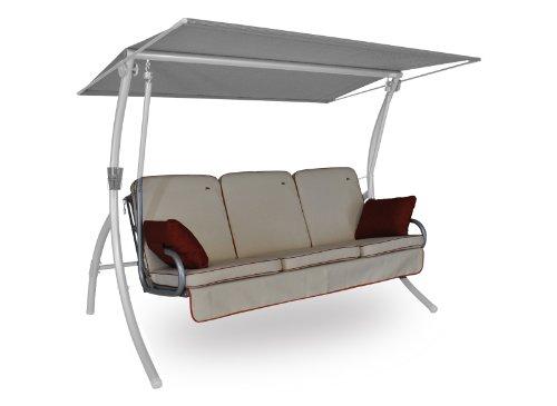 angerer 4785 183 coussin balancelle primero style 3 places design cr me pas cher avis. Black Bedroom Furniture Sets. Home Design Ideas