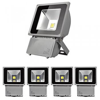 5X-100W-IP65-LED-Projecteur-Lumire-IP65-Blanc-Froid-6000-6500K-8000-9000Lumen-0