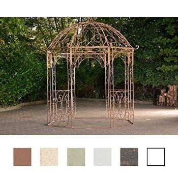 CLP Arche à rosiers rond avec pavillon LEILA, en fer, très élégant ...